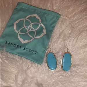 Kendra Scott perfect condition turquoise earrings
